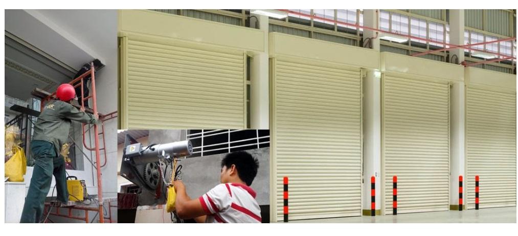 lắp đặt sửa chữa cửa cuốn Phan Rang