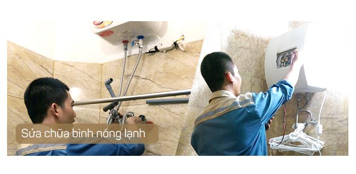 sửa bình nóng lạnh Phan Rang - Ninh Thuận