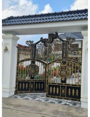 cửa sắt đẹp Phan Rang