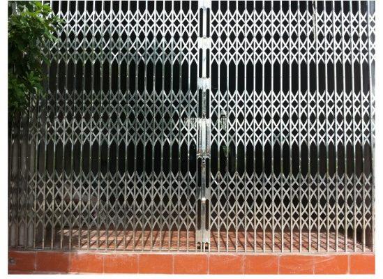 cửa kéo inox Ninh Thuận